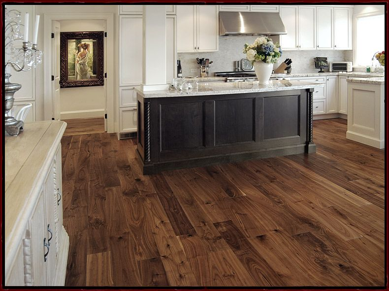 American black walnut wide plank flooring available solid for Real solid wood flooring