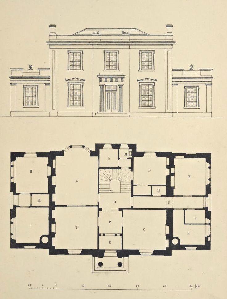 Uk English Historic Georgian Historical Bathrooms Google Search Vintage House Plans Architecture Architectural Prints