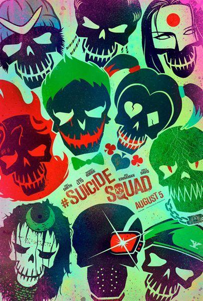 Esquadrão Suicida: Confira a galeria de cartazes - Slideshow - AdoroCinema