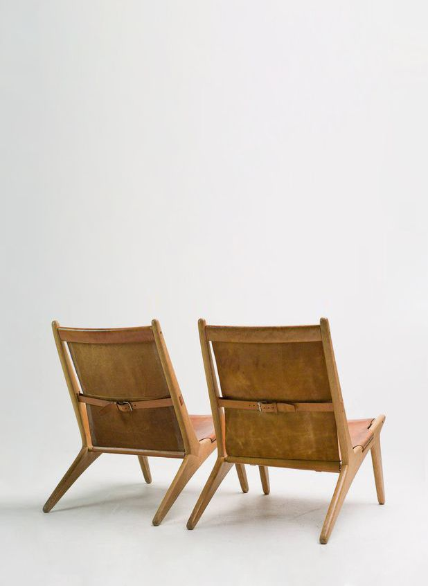 Enjoyable Sold By 1Stdibs Pair Of Hunting Chair Model 204 By Uno Inzonedesignstudio Interior Chair Design Inzonedesignstudiocom