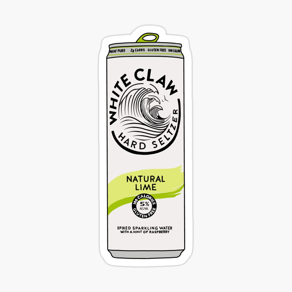 Natural Lime White Claw Spiked Seltzer Art Print By Jamiemaher15 Redbubble Beer Pong Table Diy Diy Beer Pong Table Beer Pong Table Painted