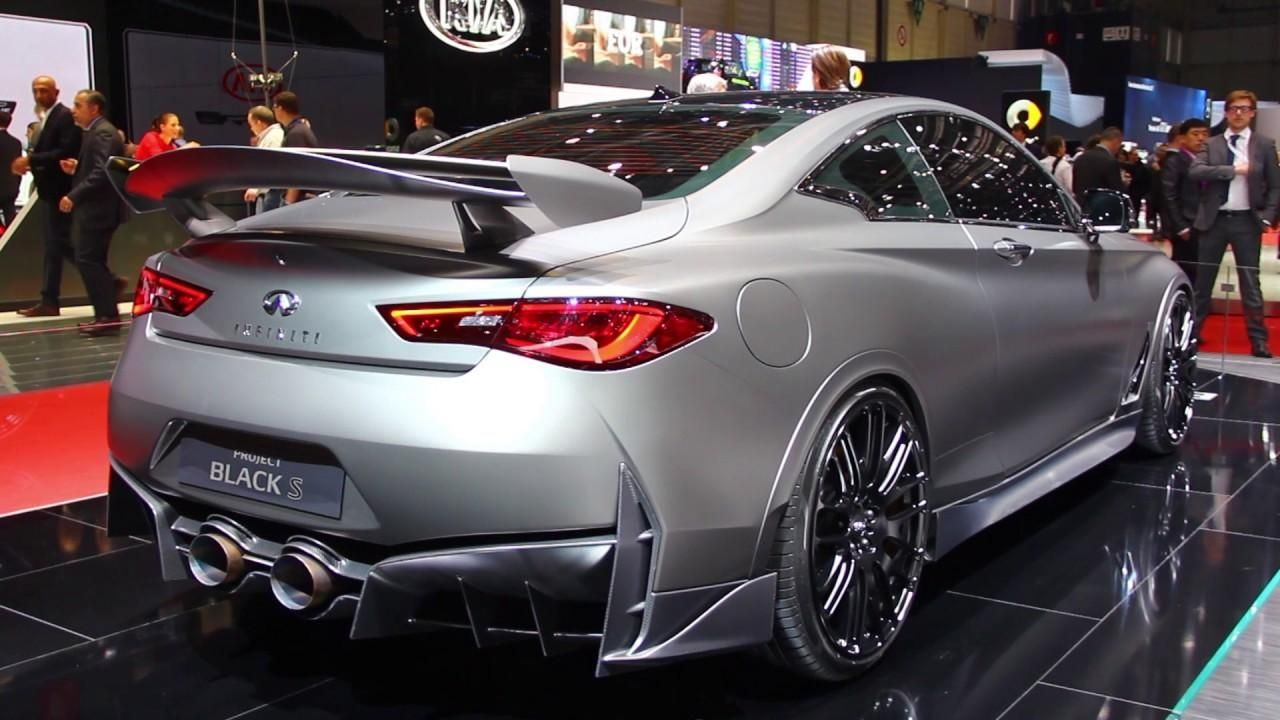 Infiniti Q60 Project Black S Concept First Look 2017 Geneva With Regard To 2019 Infiniti Q60s Exterior And Interior Review
