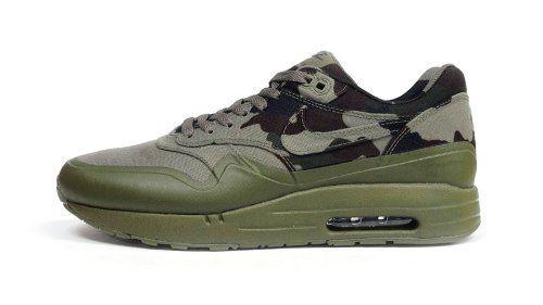 Los Hombres De Nike Air Camo Max 1 Francia Sp Camo Air Medium Olive  Dark Army Us 10 1a1783