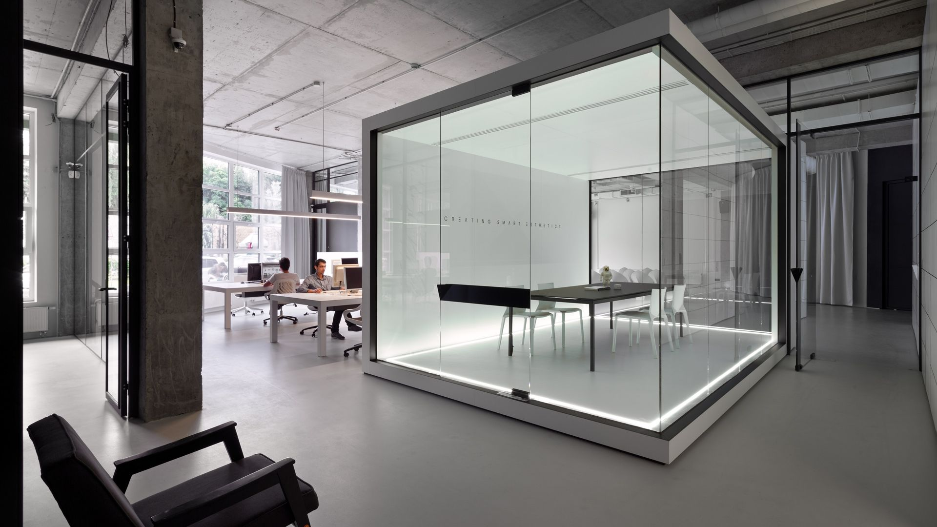 Soesthetic group takes paper architecture off the page for Office interior work