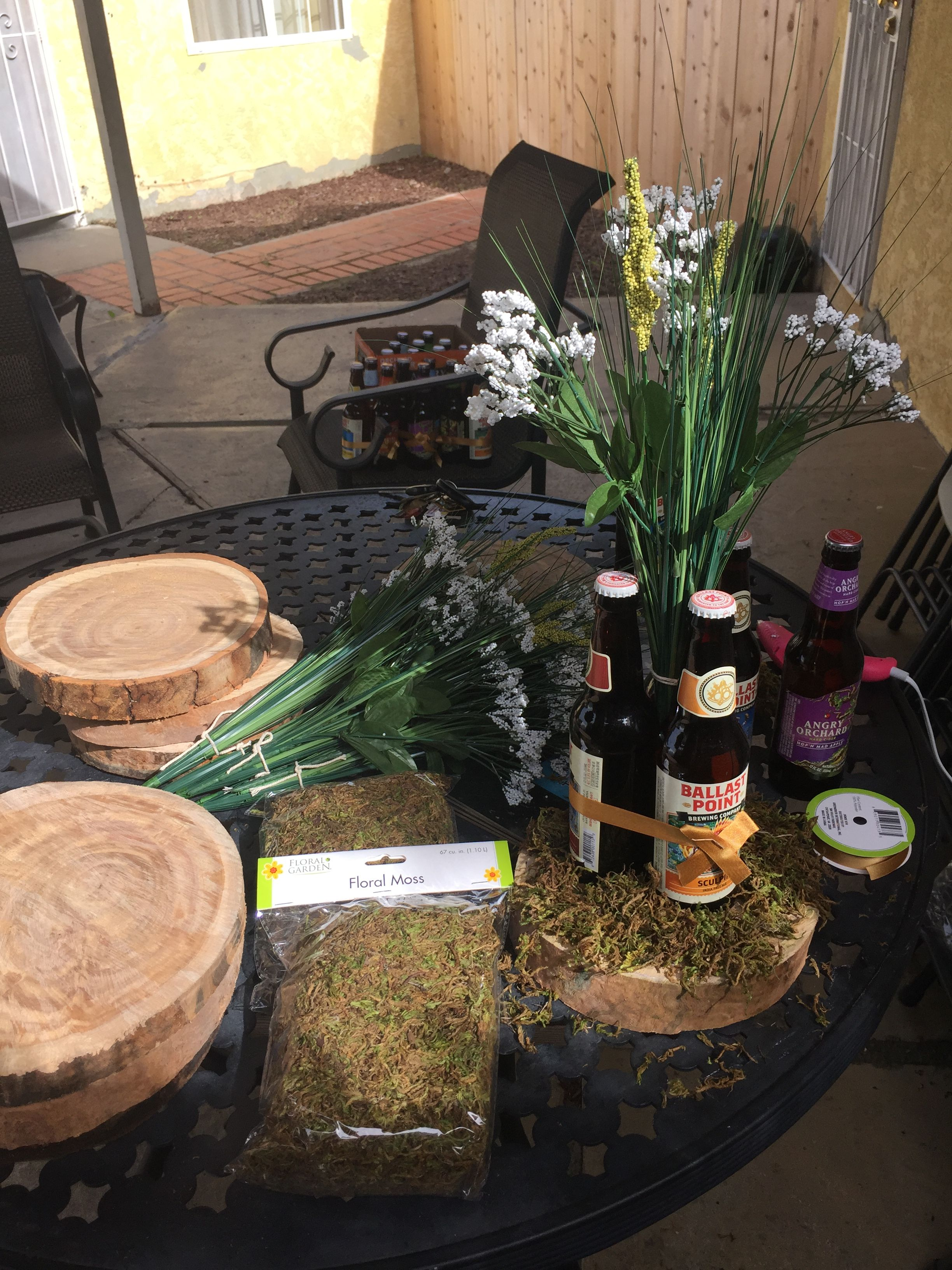Awesome Beer Themed Party Centerpieces Are Fabulous For A Manly Download Free Architecture Designs Ogrambritishbridgeorg
