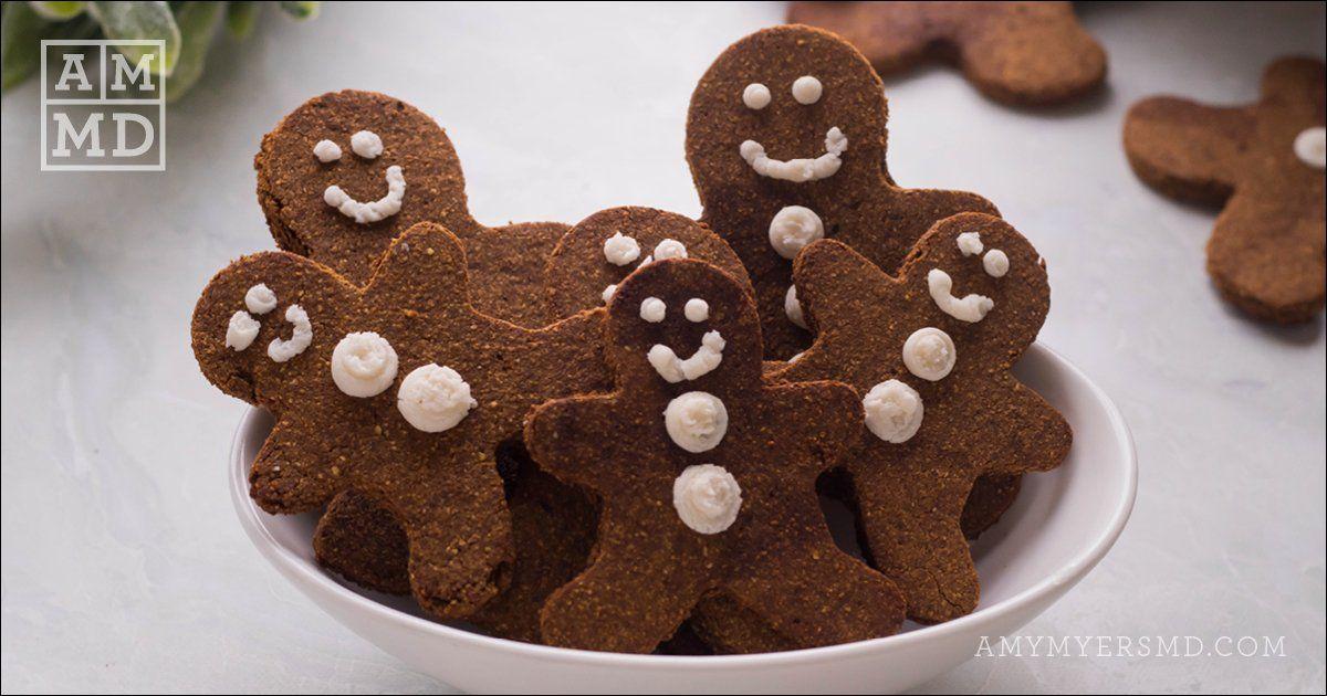 Gingerbread Men Recipe Food processor recipes