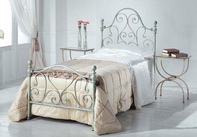 Stunning Letto Singolo Ferro Battuto Bianco Contemporary ...