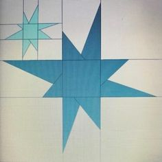 Free Quilt Pattern: 12x12 Wonky Star-In-A-Star • I Sew Free