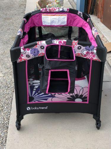 Baby Trend Pack N Play : trend, Trend, Playard, Nursery, Center, Bassinet, Playpens, Yards, Worldenergy.ae