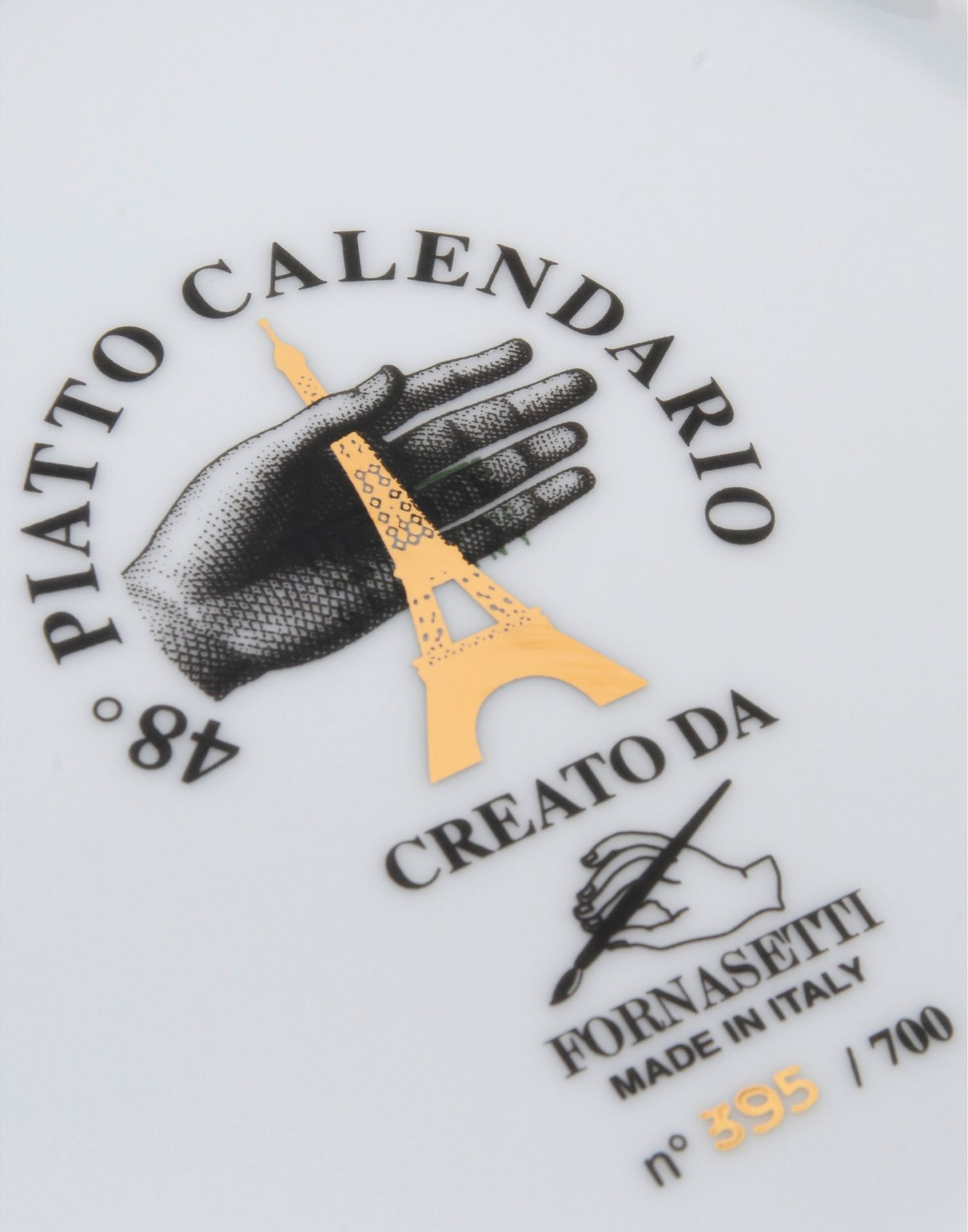Fornasetti Calendario 2015 - 雑貨 - Design Fornasetti | yoox.com - 58024204JW