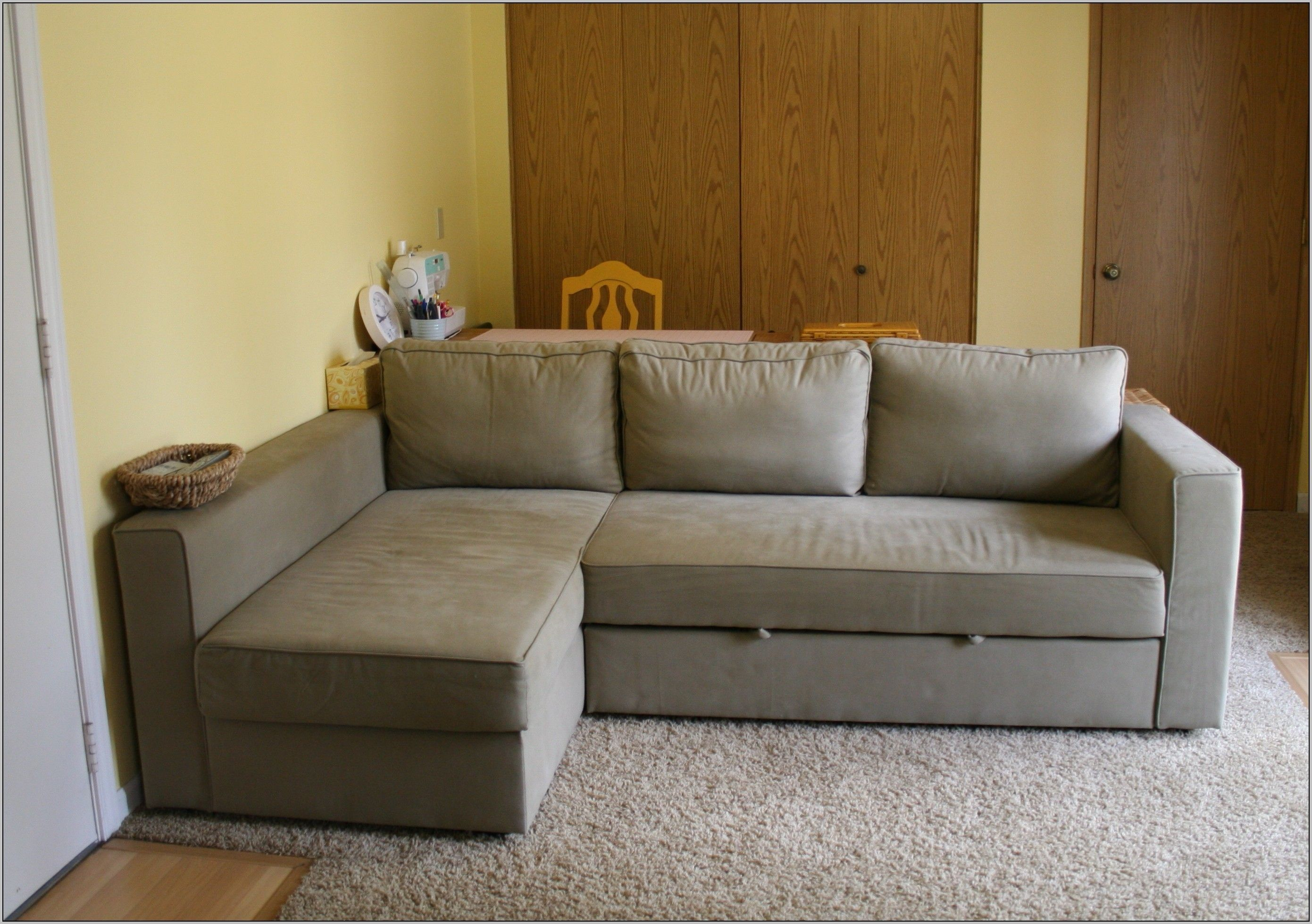 Delicieux Microsuede Sectional Sleeper Sofa