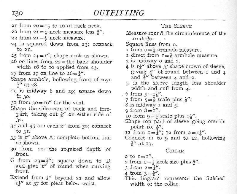 Page 1 of 3 - Cutting Shirts - posted in The Outfitters Forum: Here is the cutting system as modified by Archibald Whife for the 1949 edition of The Modern Tailor Outfitter and Clothier:The yoke is the centre piece of a shirt. Of particular interest is the way Whife shows how to modify the draft of the yolk according to the build of the client:
