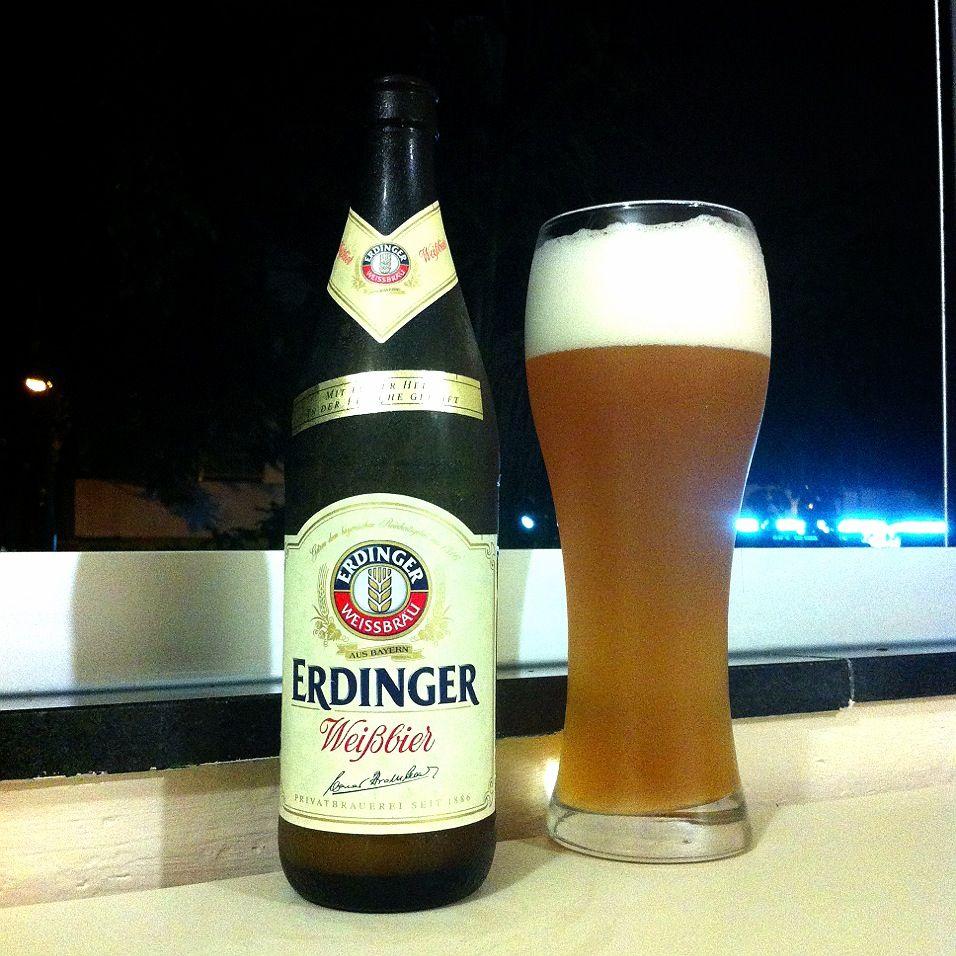 Erdinger Weißbier | Hefeweizen | Pinterest | Beer
