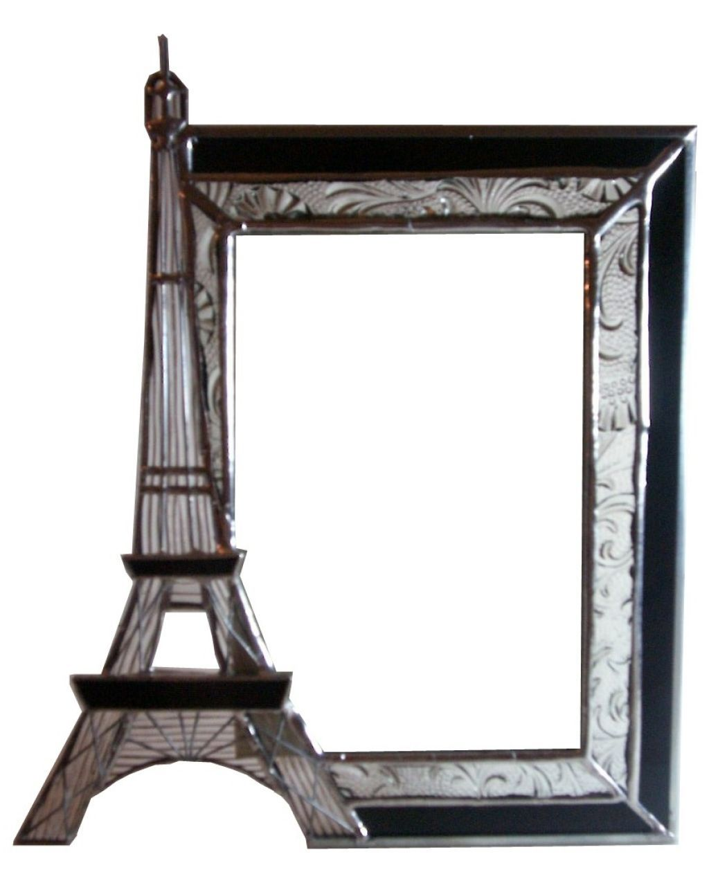 Eiffel tower picture frame unique vintage styled design for Cool picture frame designs