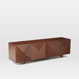 Staggered Wood Console (76