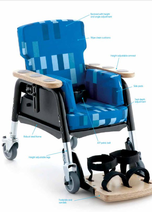 Leckey Easy Seat Positioning Chair For Pediatric Special