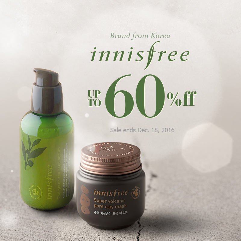 The Big INNISFREE Sale! Up to 60 off this topselling
