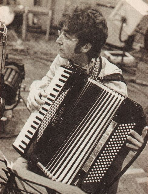 Geeking Out With Geekboyking: John Lennon and Accordian | Buttered