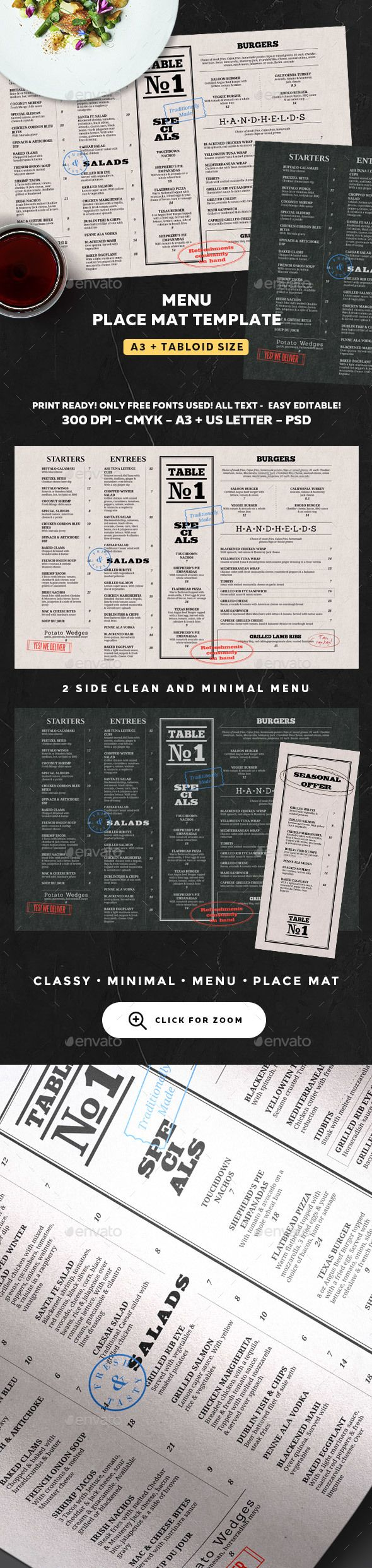 restaurant menu menu templates restaurant menu template and food