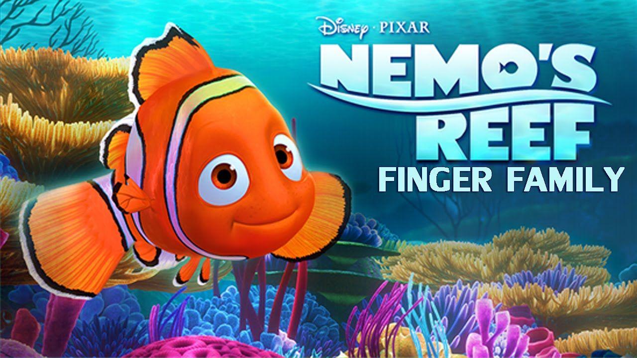 Disney Nemo Finger Family Nursery Rhymes Song For Children