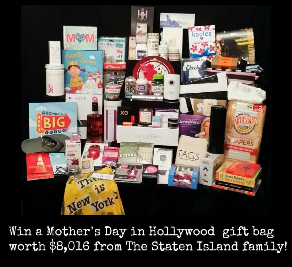 Win a Mother's Day in Hollywood gift bag worth $8,016 from The ...