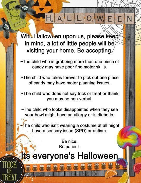 special needs halloween awareness