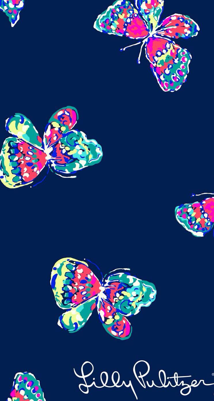 Multi Color Butterfly Wallpaper Lock Screen Background