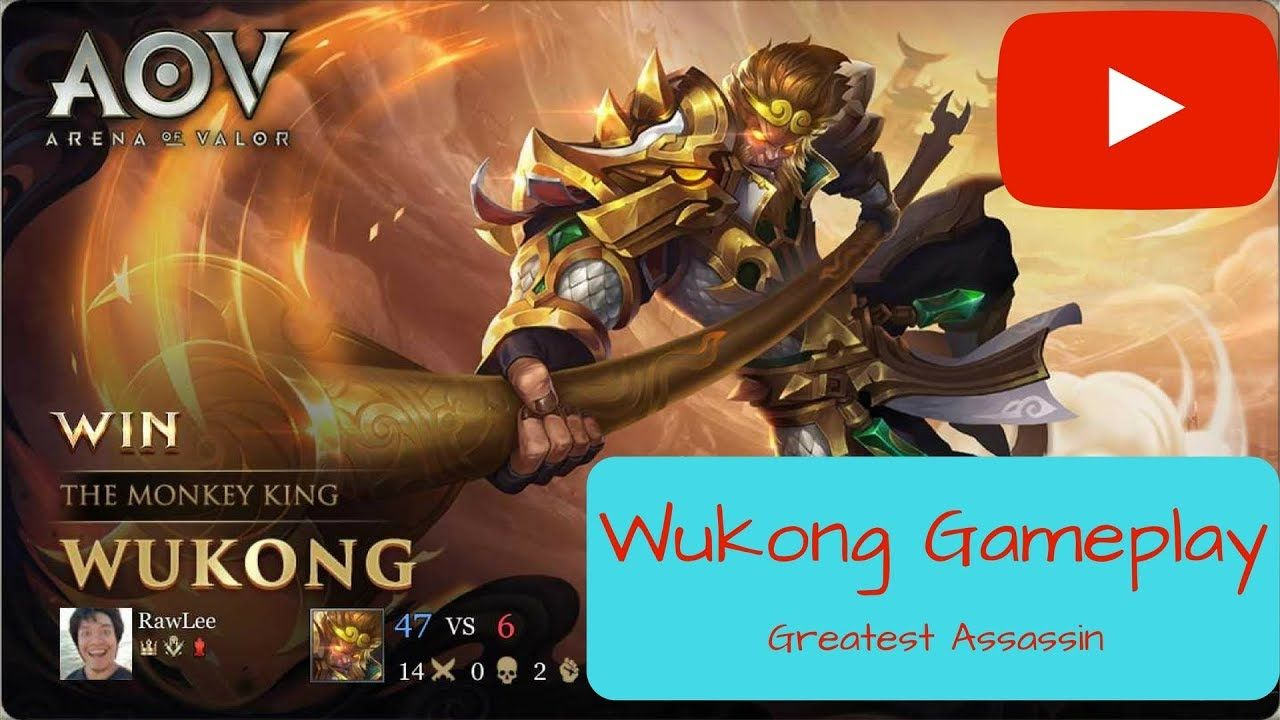 Wukong Arena Of Valor First Time Gameplay