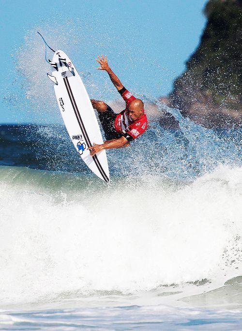 Kelly Slater... in Rio de Janeiro...