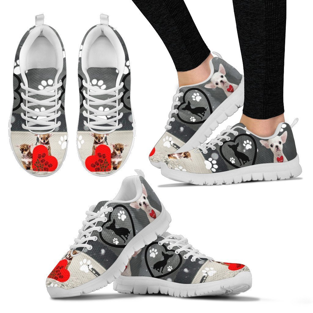 Valentine's Day SpecialChihuahua Dog Print Running Shoes