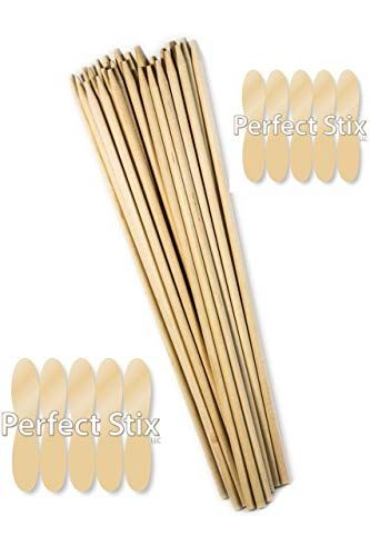 Perfect Stix BDS30SP-100ct 30 Bamboo Marshmallow S'Mores Sticks, 6.35 mm (Pack of 100 #smoressticks