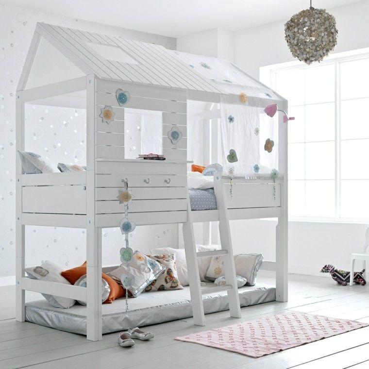 chambre enfant lit enfant lit cabane