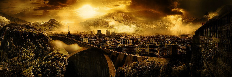 Dystopia Landscape Dystopia, Scenery, Landscape