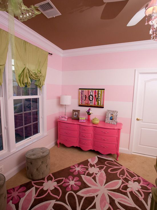 Pink and green girls room baby stuff Pinterest - recamaras modernas juveniles para mujer