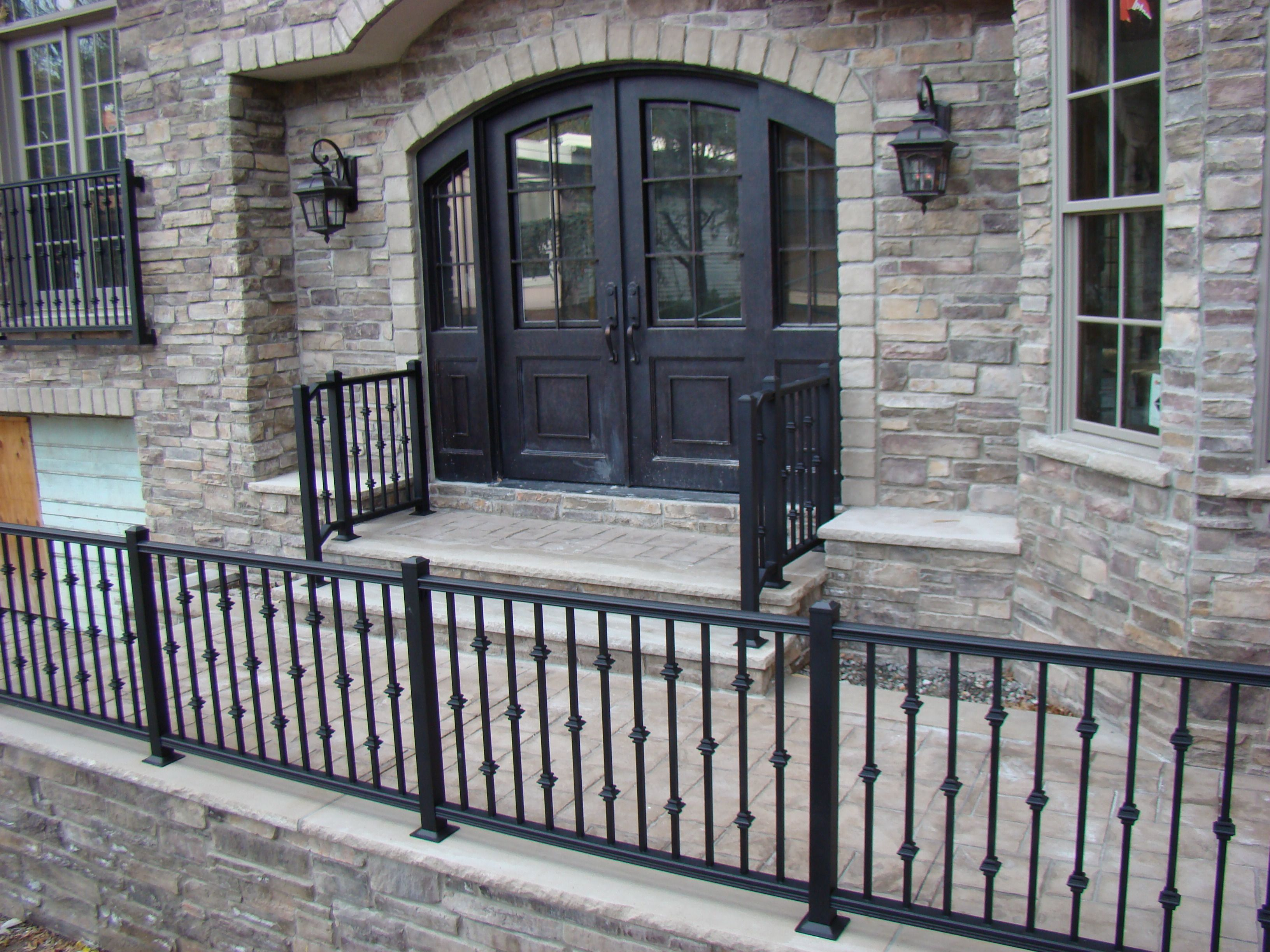 Best Great Custom Exterior Railing Systems By F C Professional 400 x 300