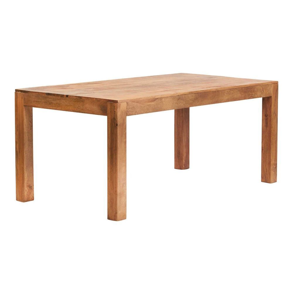 180cm Rectangular Dining Table Natural Solid Light Mango Colour Wooden Furniture Large Dining Table Rectangular Dining Table Dining Table [ 1000 x 1000 Pixel ]