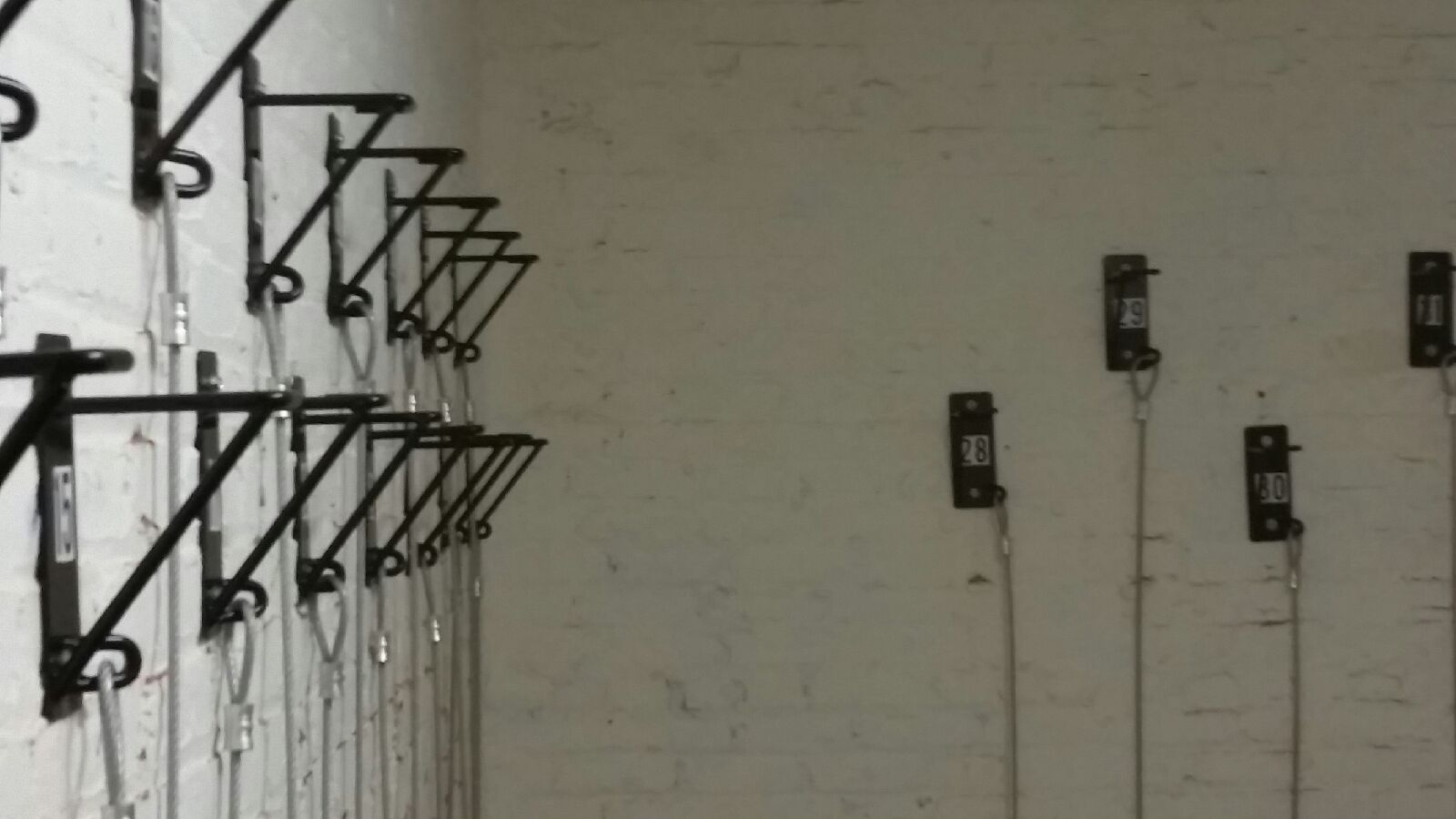 Wall Mount Bike Racks Upper Eastside Nyc Secure Space Efficient