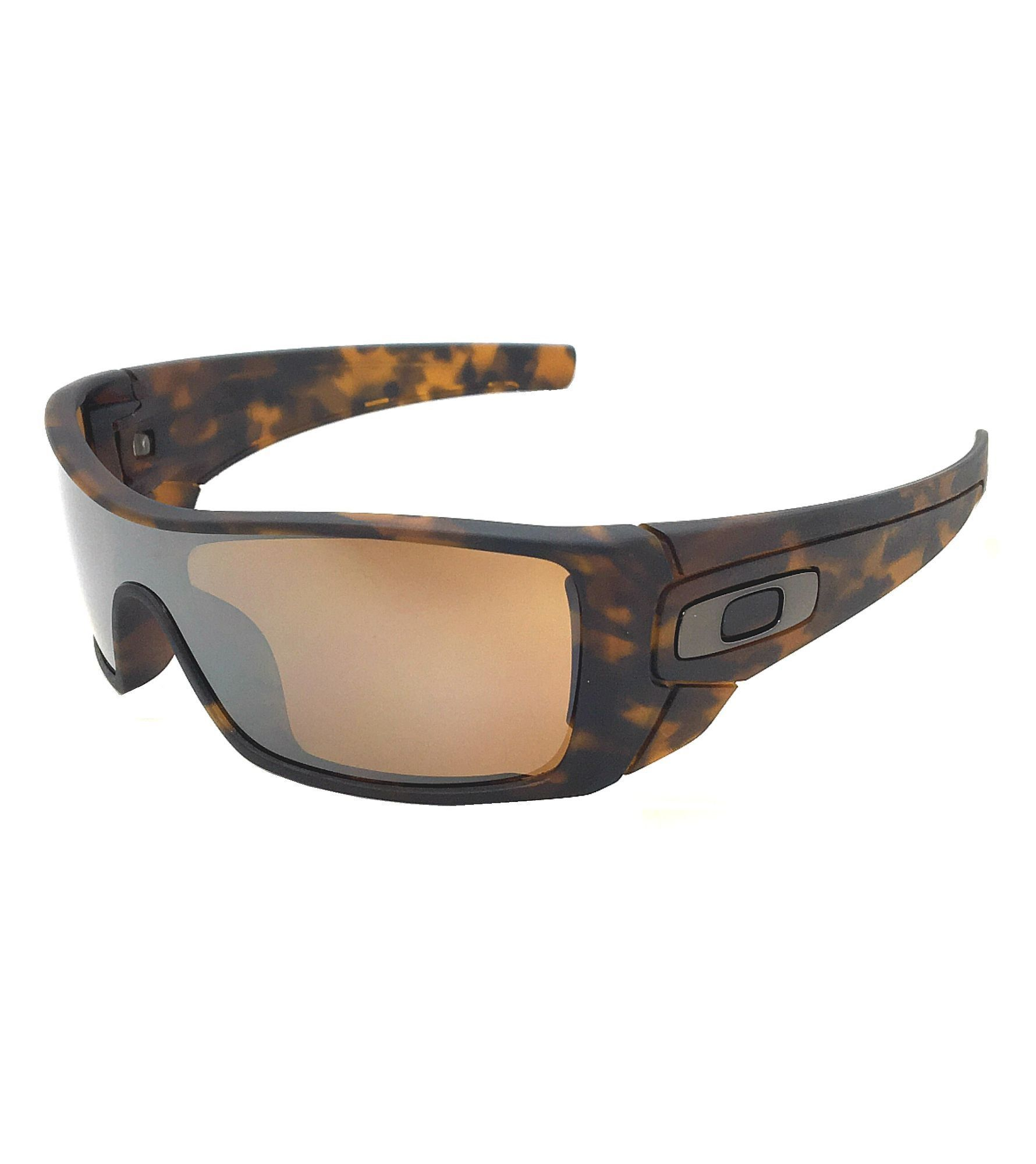 Oakley Batwolf 9101-53 Matte Tortoise / Tungsten Iridium Sunglasses