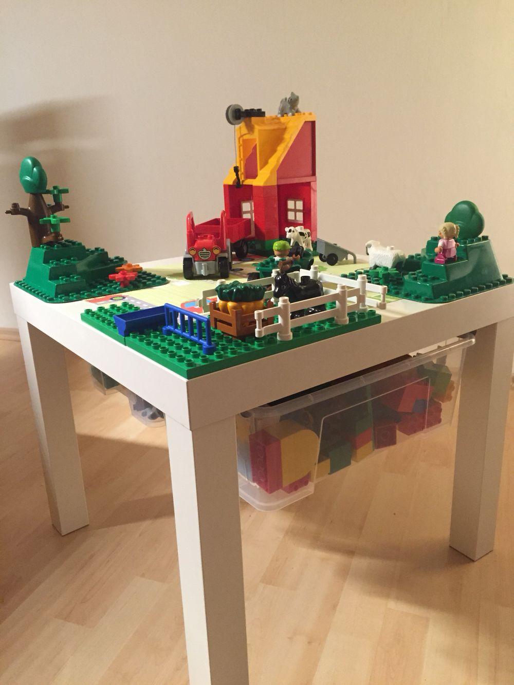 unser besonderer legotisch | lego tisch, ikea hack | pinterest | ideen