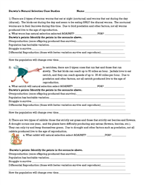 Darwin Natural Selection Worksheet Teaching Methods Worksheets Natural Selection