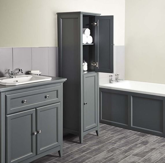 Savoy Charcoal Grey 400 Tall Unit