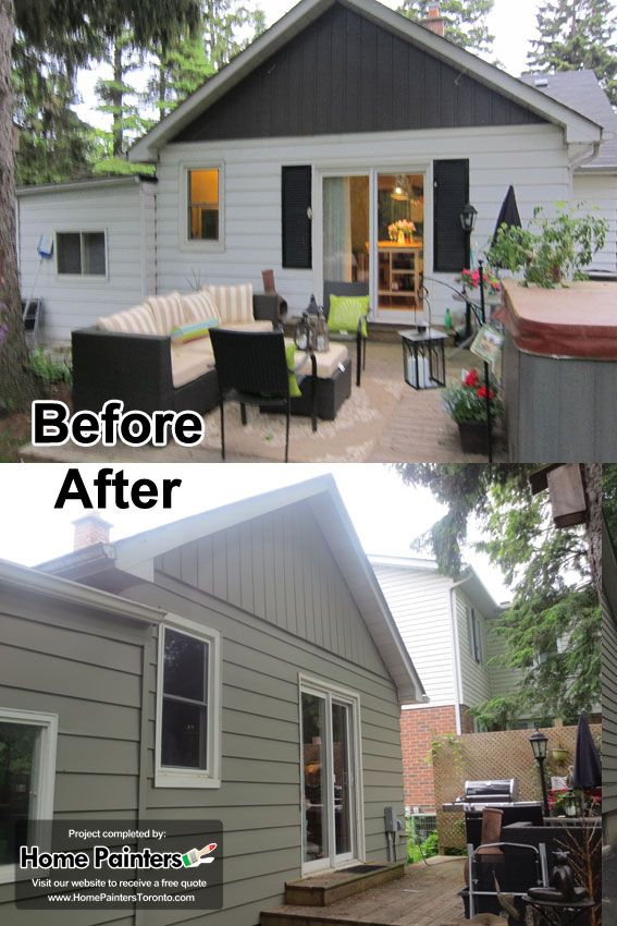 Another Photo Of Before After Of A Bungalow Aluminum Siding