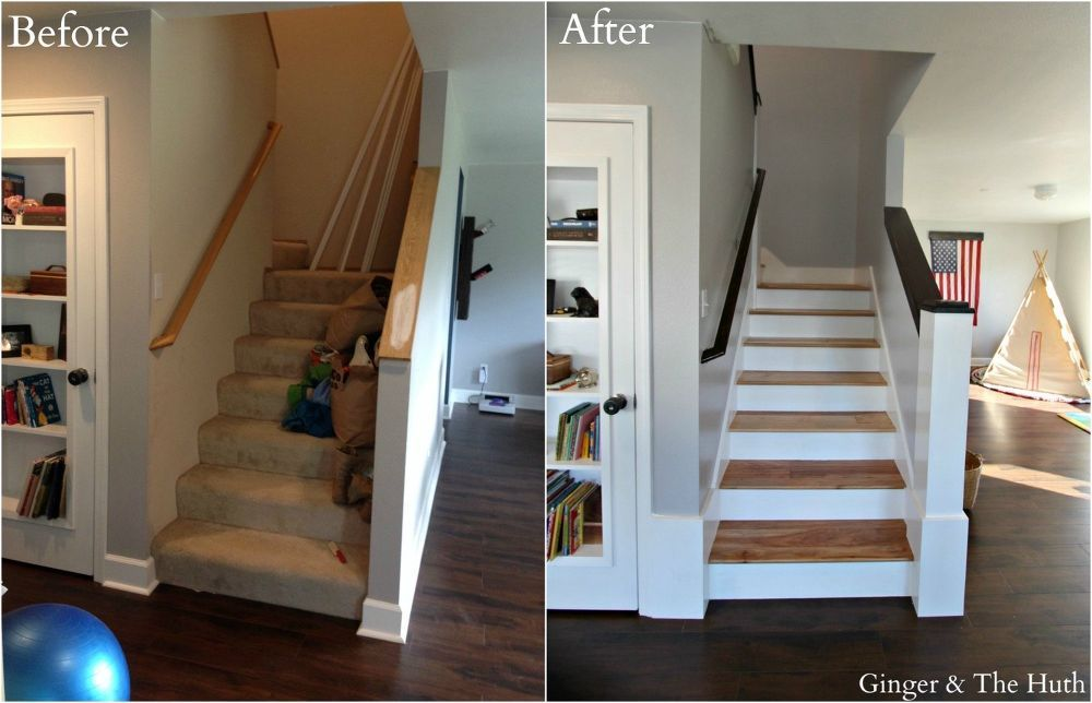 Best Diy Staircase Remodel Staircase Remodel Home Repairs 400 x 300