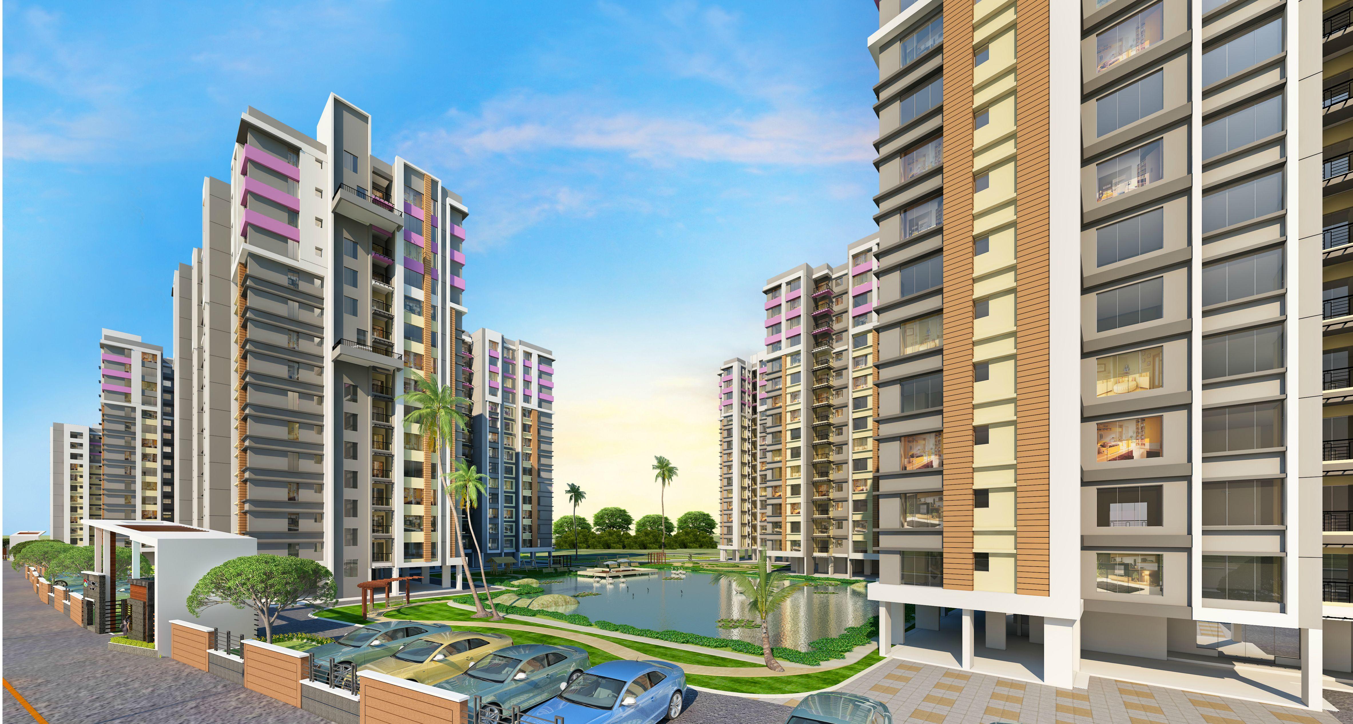 Southwinds Residential Apartments Flats Kolkata