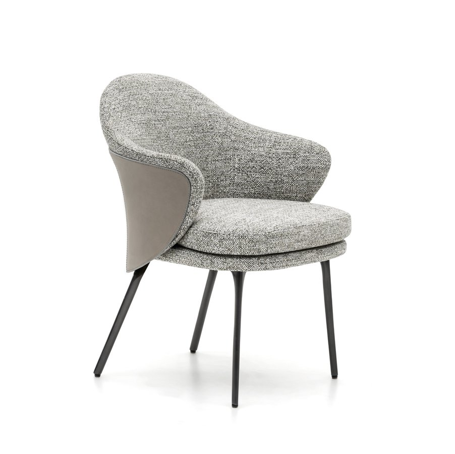 Angie Dining Chair By Minotti Ecc Dining Chairs Mid Century Modern Armchair Furniture
