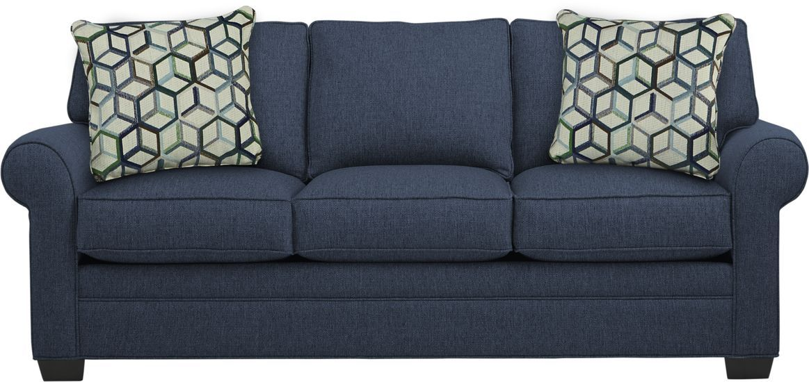 Cindy Crawford Home Bellingham Midnight Textured Sofa In 2020