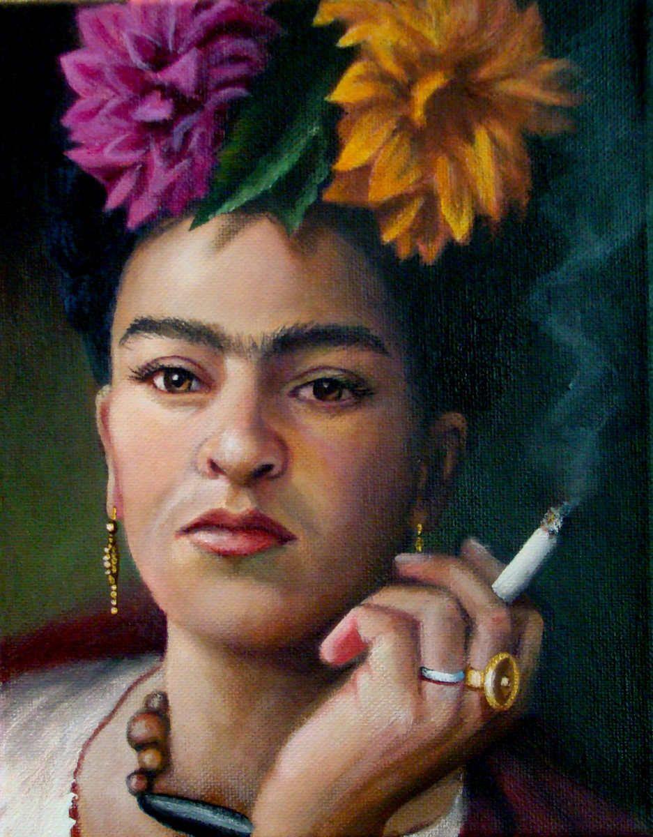 Pintura Contemporánea - One Broad Tough (Arte original de Christina Ramos)