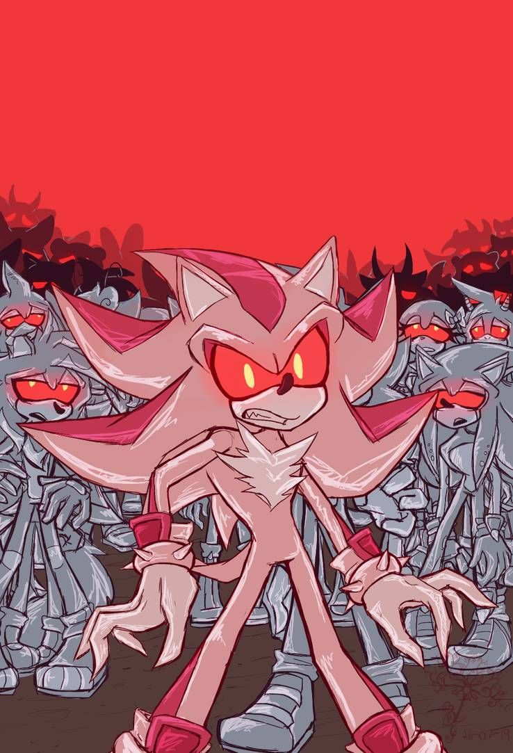 Zombot Shadow By Belloanocheser Shadow The Hedgehog Sonic Art Sonic Fan Art