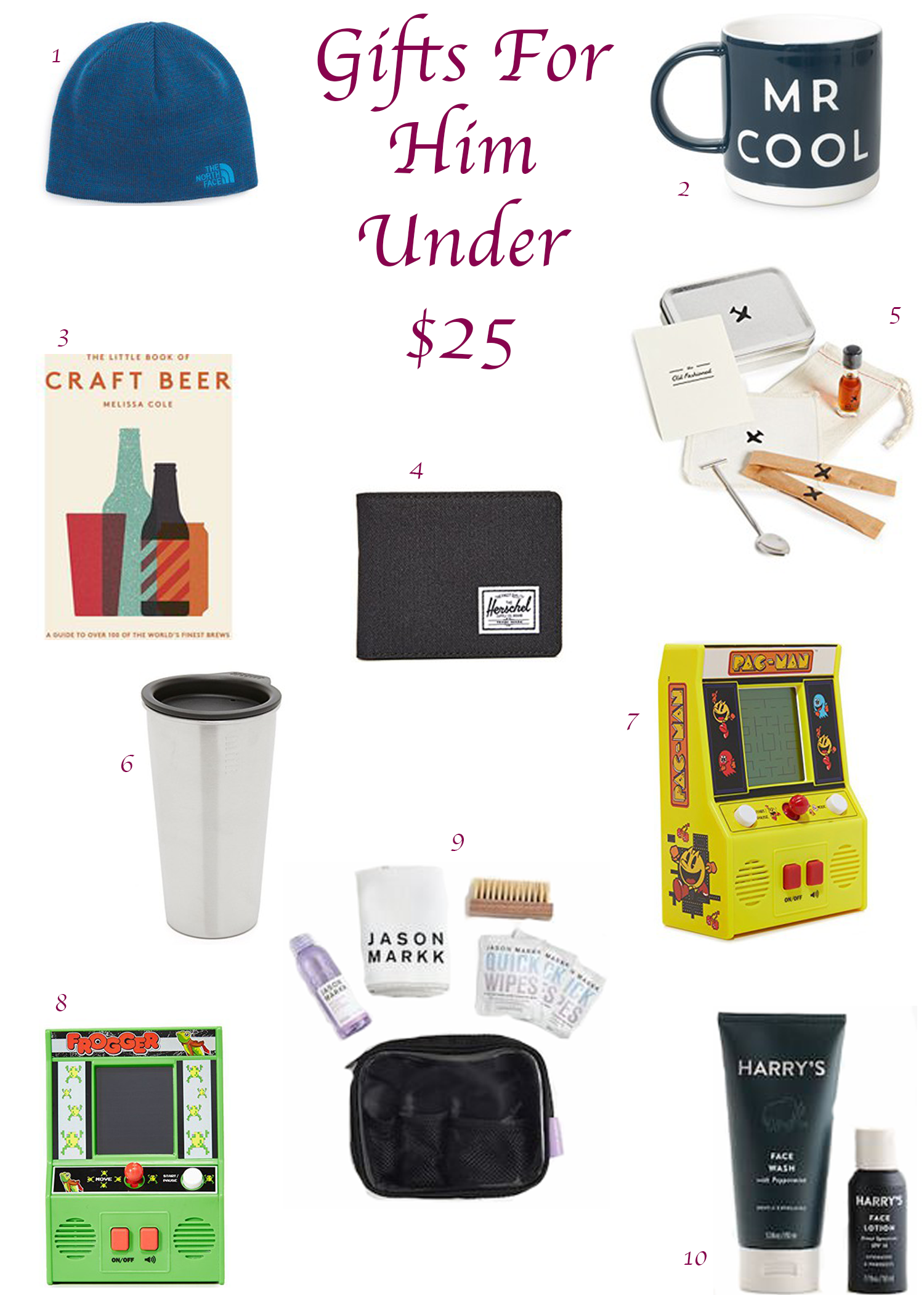 Gifts For Him Under $25 - Effortlessly Sophisticated - Metro