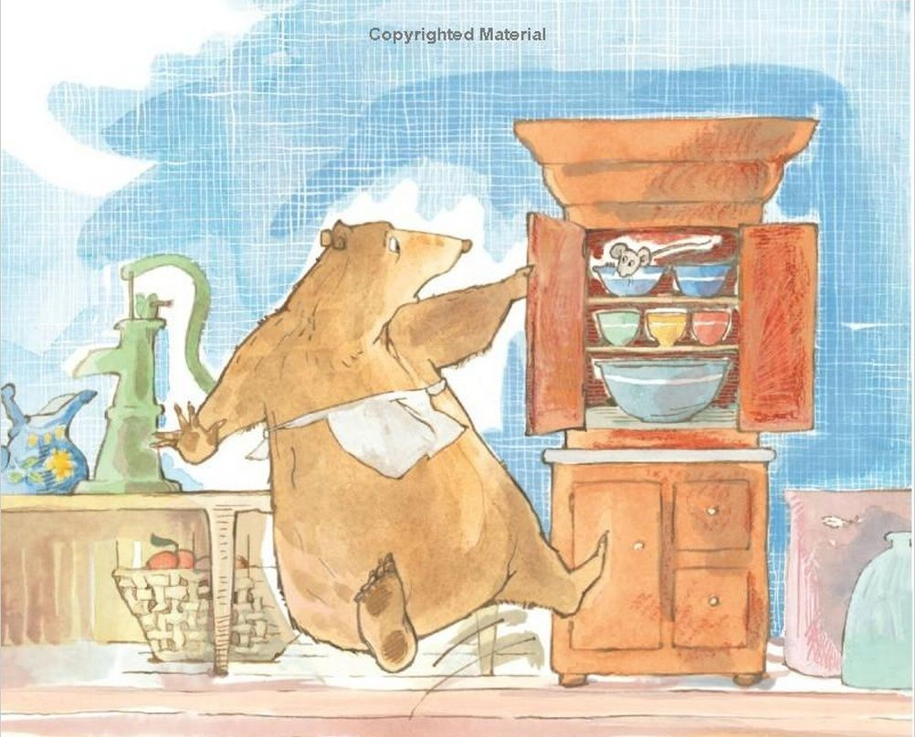 a visitor for bear bear and mouse